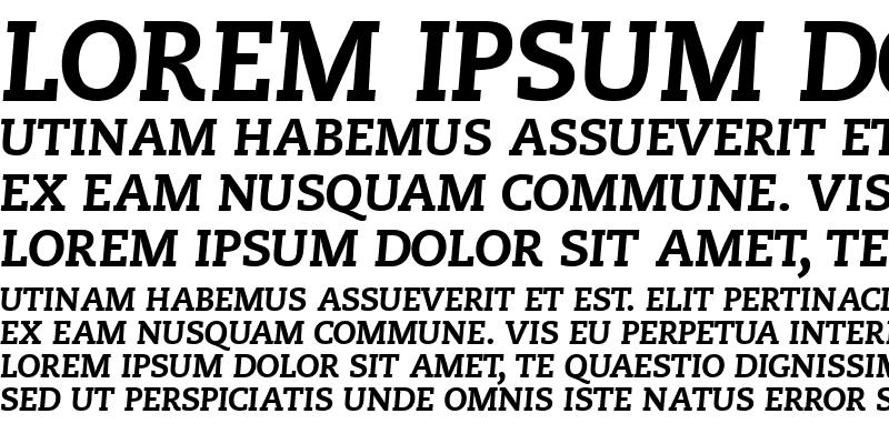 Sample of MonologueBlackCapsSSK Italic