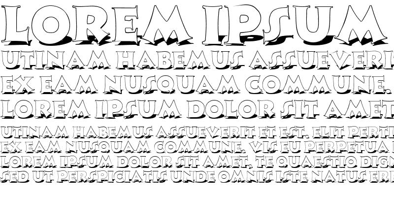 Sample of MonophonShadow Regular
