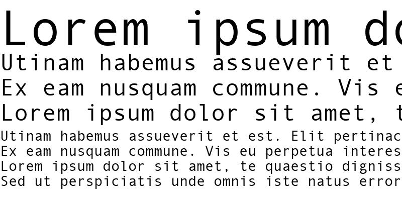 Sample of Monotype.com