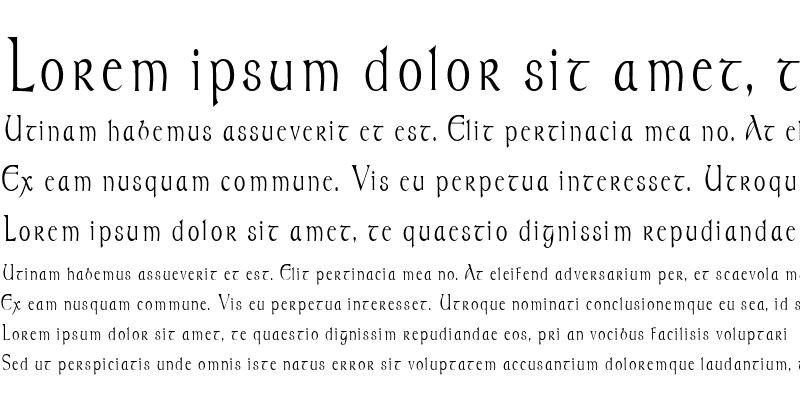 Sample of MoravianCondensed Regular