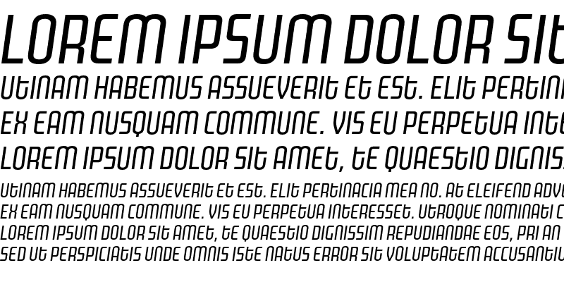 Sample of MorganPoster Italic