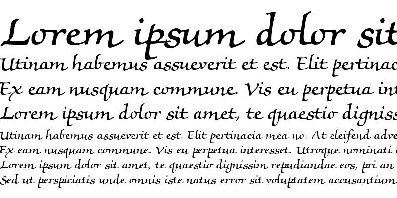Sample of MorisScript