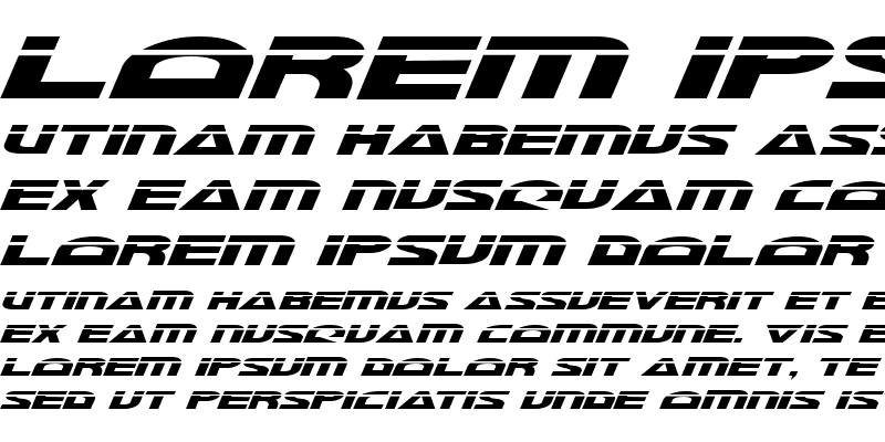 Sample of Morse NK Laser Italic