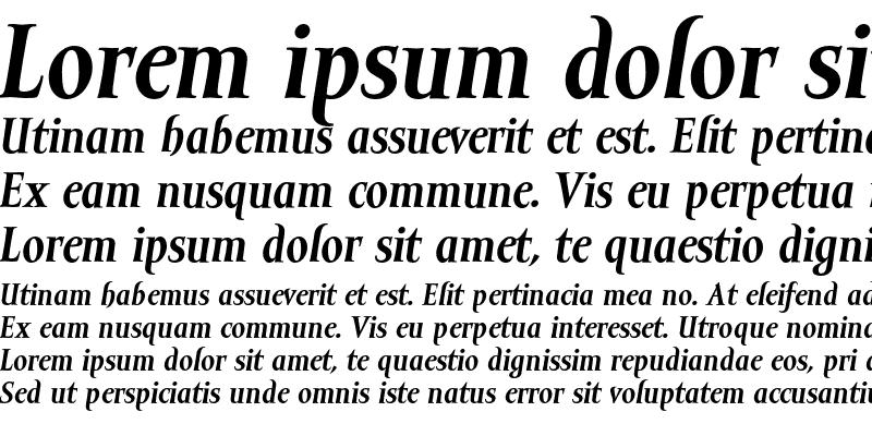 Sample of Mramor Text Bold Italic