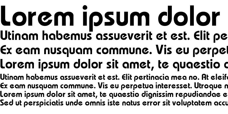 Sample of MumboSSK Bold