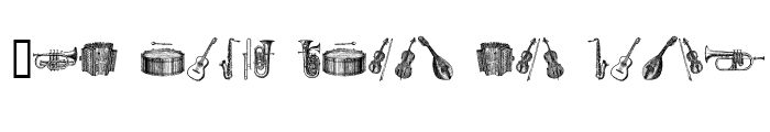 Preview of musical instruments, 1st chair Regular