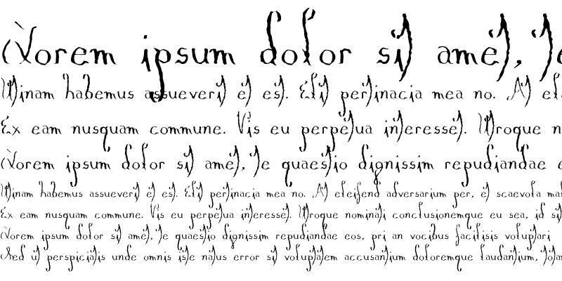 Sample of Myrain Regular