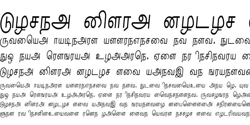 Sample of Nalini Regular