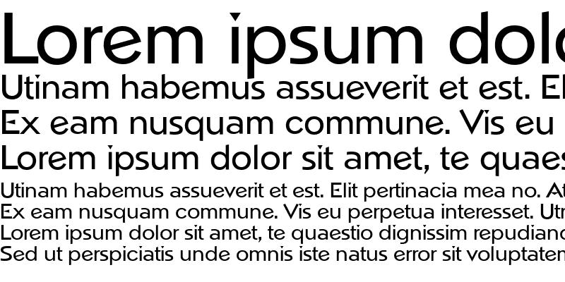 Sample of NapoliSerial Medium