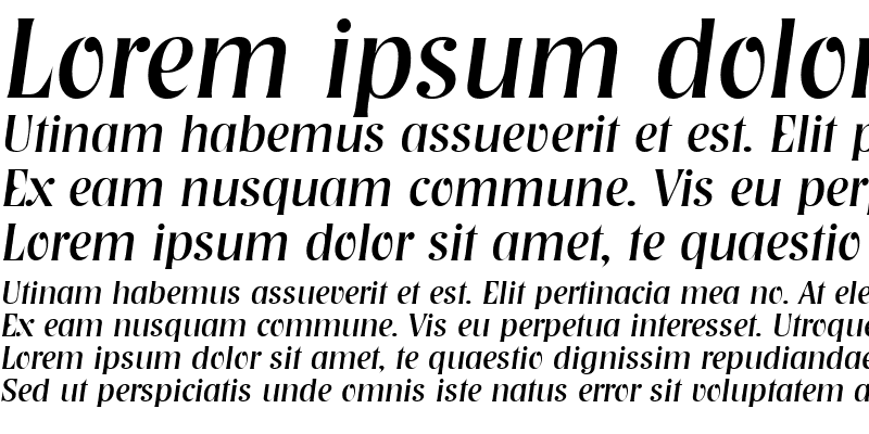 Sample of Nashville-Serial RegularItalic