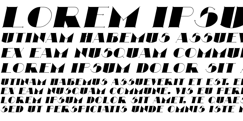 Sample of Nathan Italic