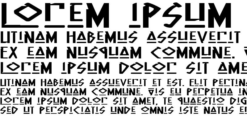 Sample of Native Alien Extended