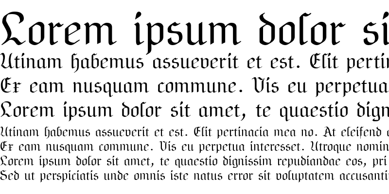Sample of NeuAltisch