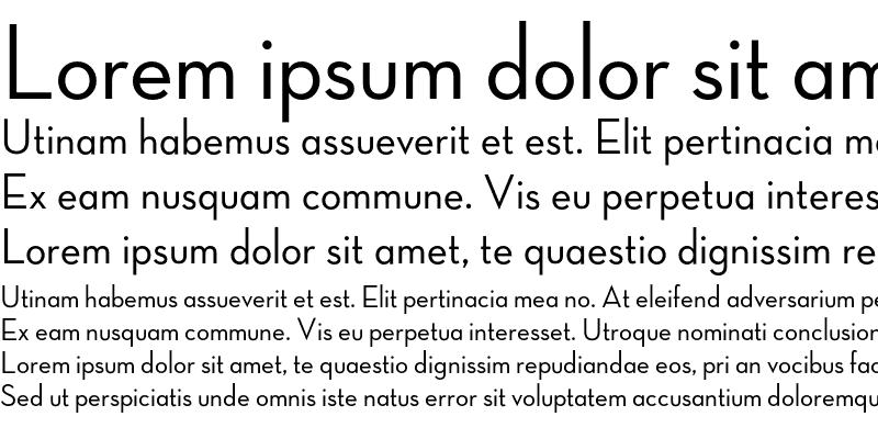 Sample of Neutra Display Medium Alt