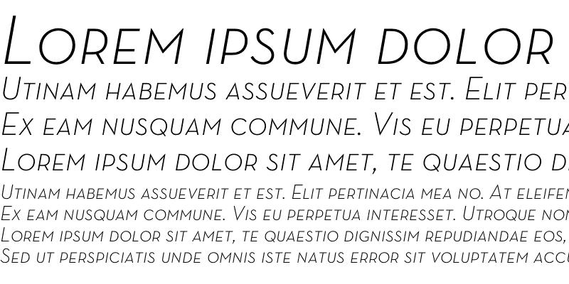 Sample of Neutra Text Light SC Italic