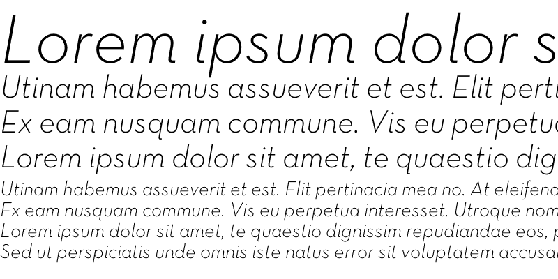 Sample of Neutra Text TF Light Italic Alt