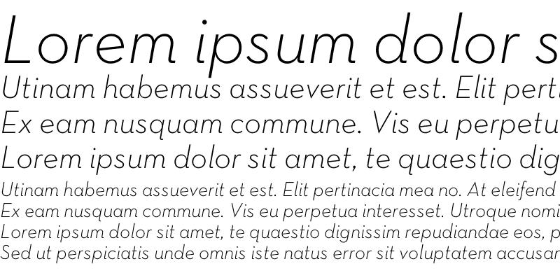 Sample of Neutra Text TF Light Italic