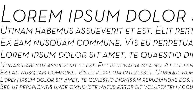 Sample of Neutra Text TF Light SC Italic