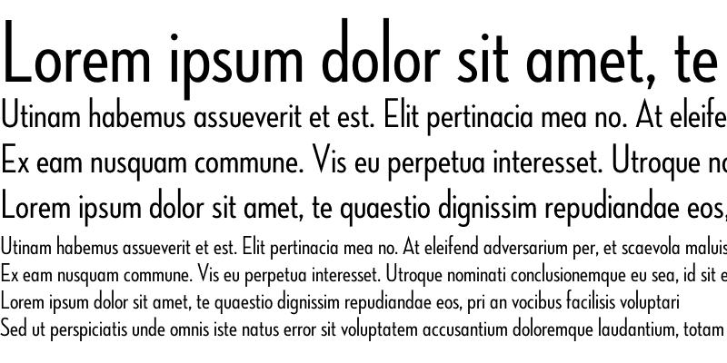 Sample of Neutraface Condensed Medium Alt