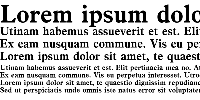 Sample of News Plantin Bold