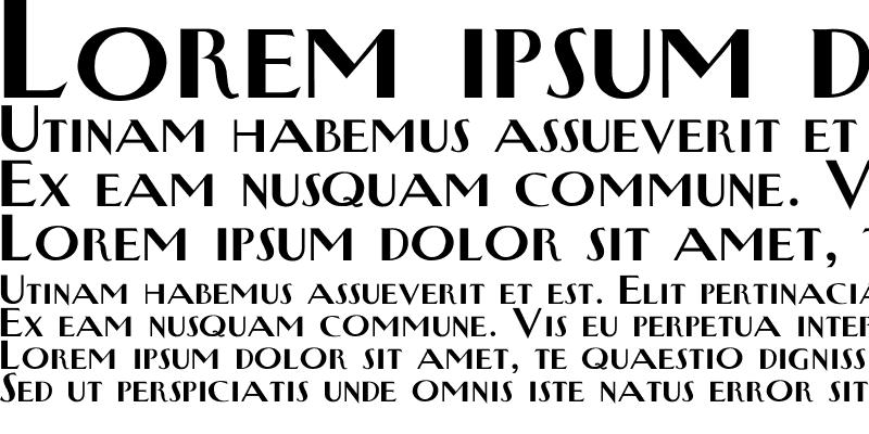 Sample of NewYorkerType Bold