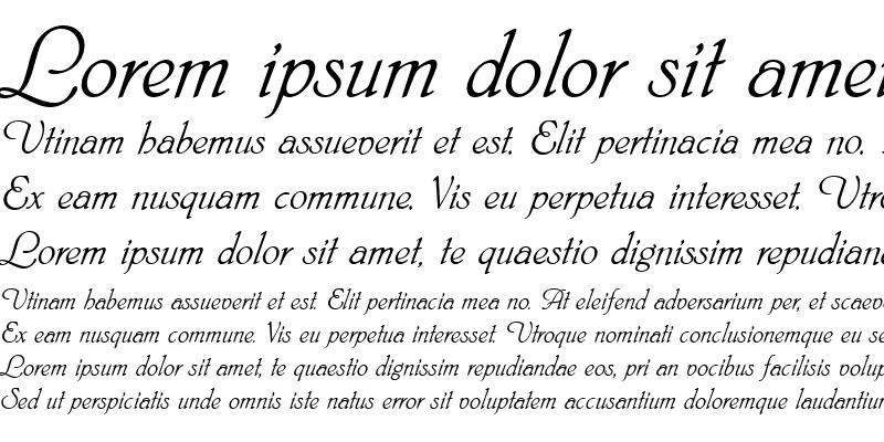 Sample of Nimbus Script