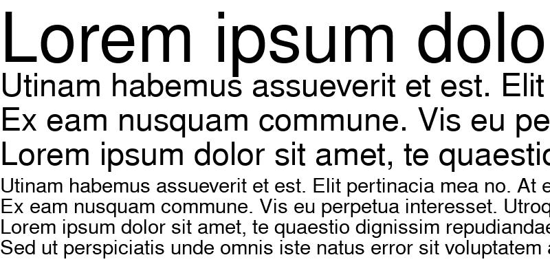 Sample of NimbusSanL