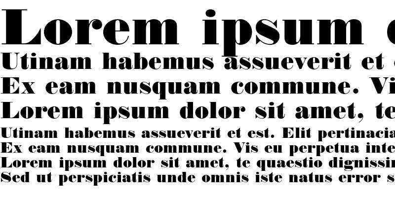 Sample of Normande
