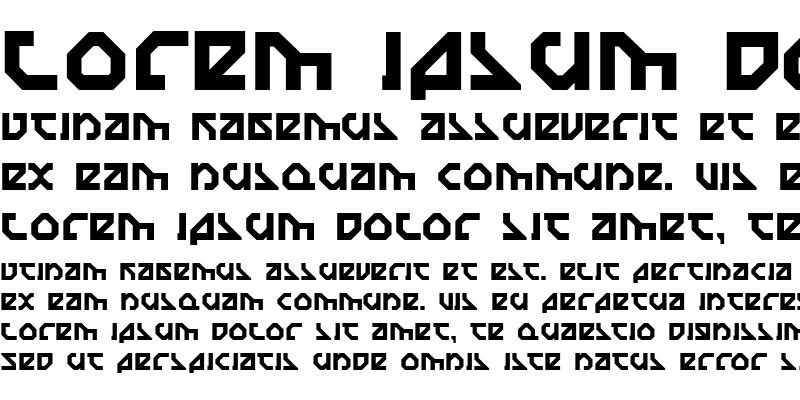 Sample of Nostromo