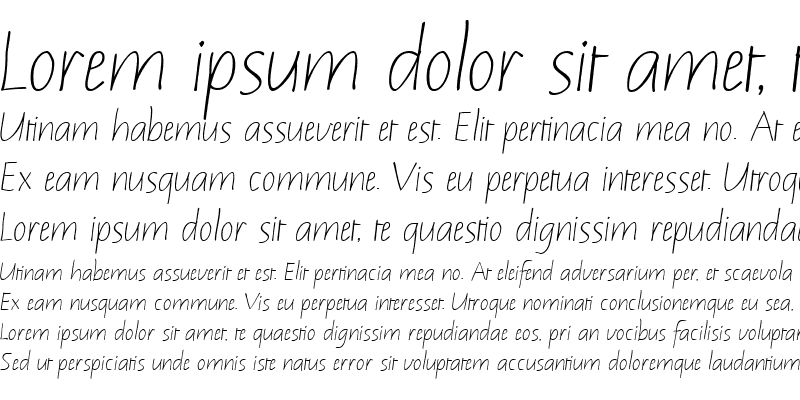 Sample of Notehand