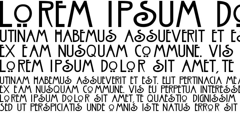 Sample of Nouveau
