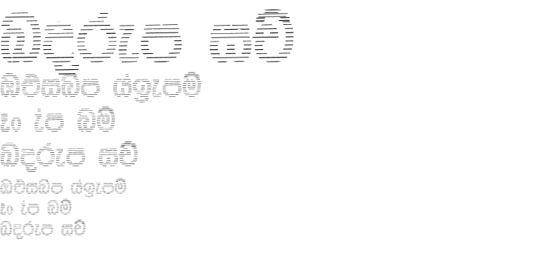 Sample of NPW- Stripe