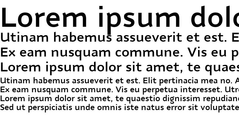 Sample of Nubian-DemiBold