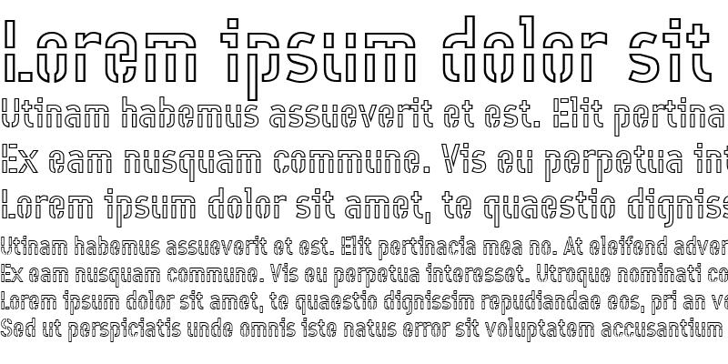 Sample of Offline-Outline Medium