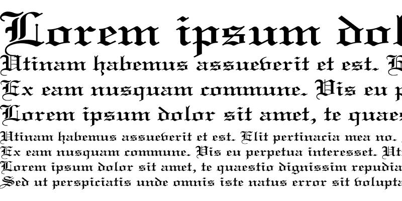 Sample of Old English Wd Regular