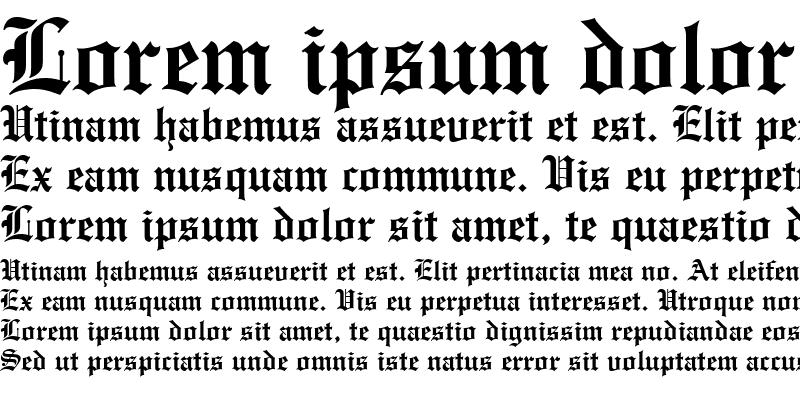 Sample of Olde Englishe
