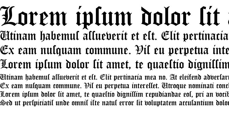 Sample of OldeEnglish
