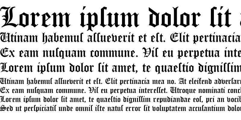 Sample of OldEnglishD