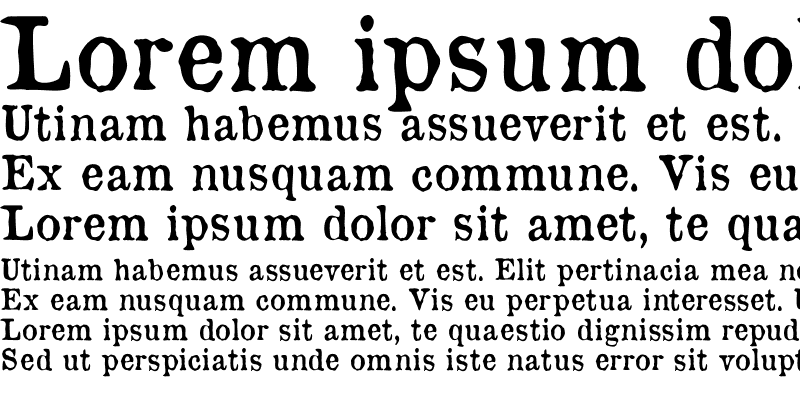 Sample of OldNewspaperTypes