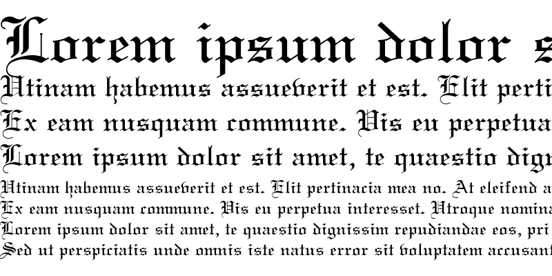Sample of Oldtext