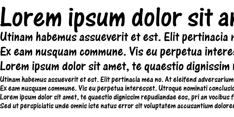 Sample of One Stroke Script