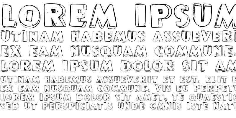 Sample of P22 Pop Art Three D