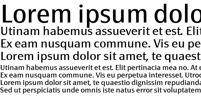 Sample of PageSans-Regular