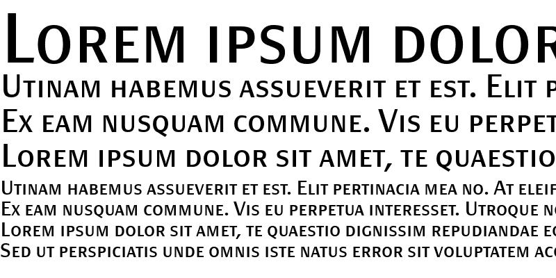 Sample of PageSans-RegularSC