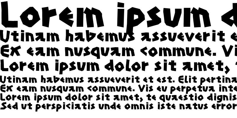 Sample of Papercuts