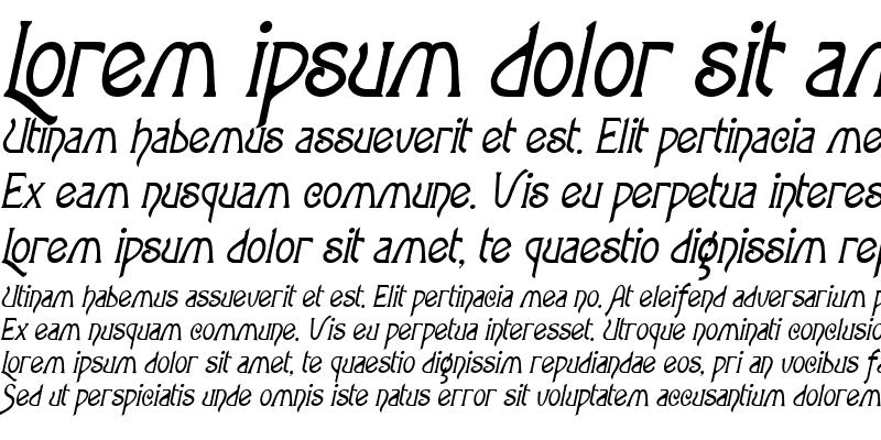 Sample of Parsnip Oblique