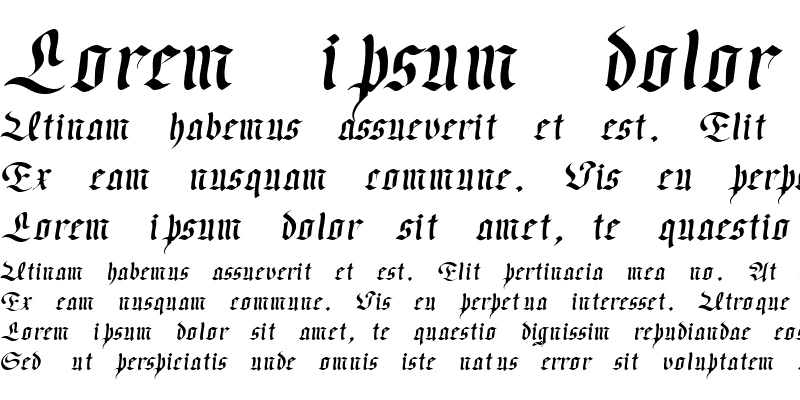 Sample of Passeul Oblique
