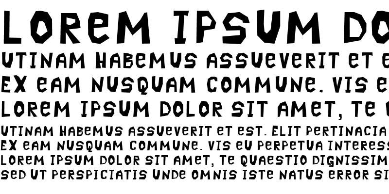 Sample of Pavement Regular