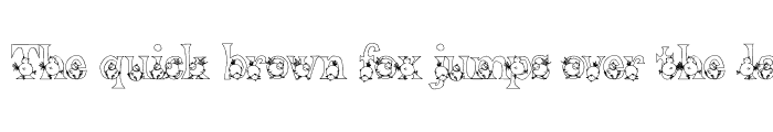 Preview of PC Chicks Font Regular