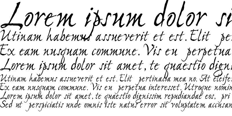 Sample of PC Stone Script